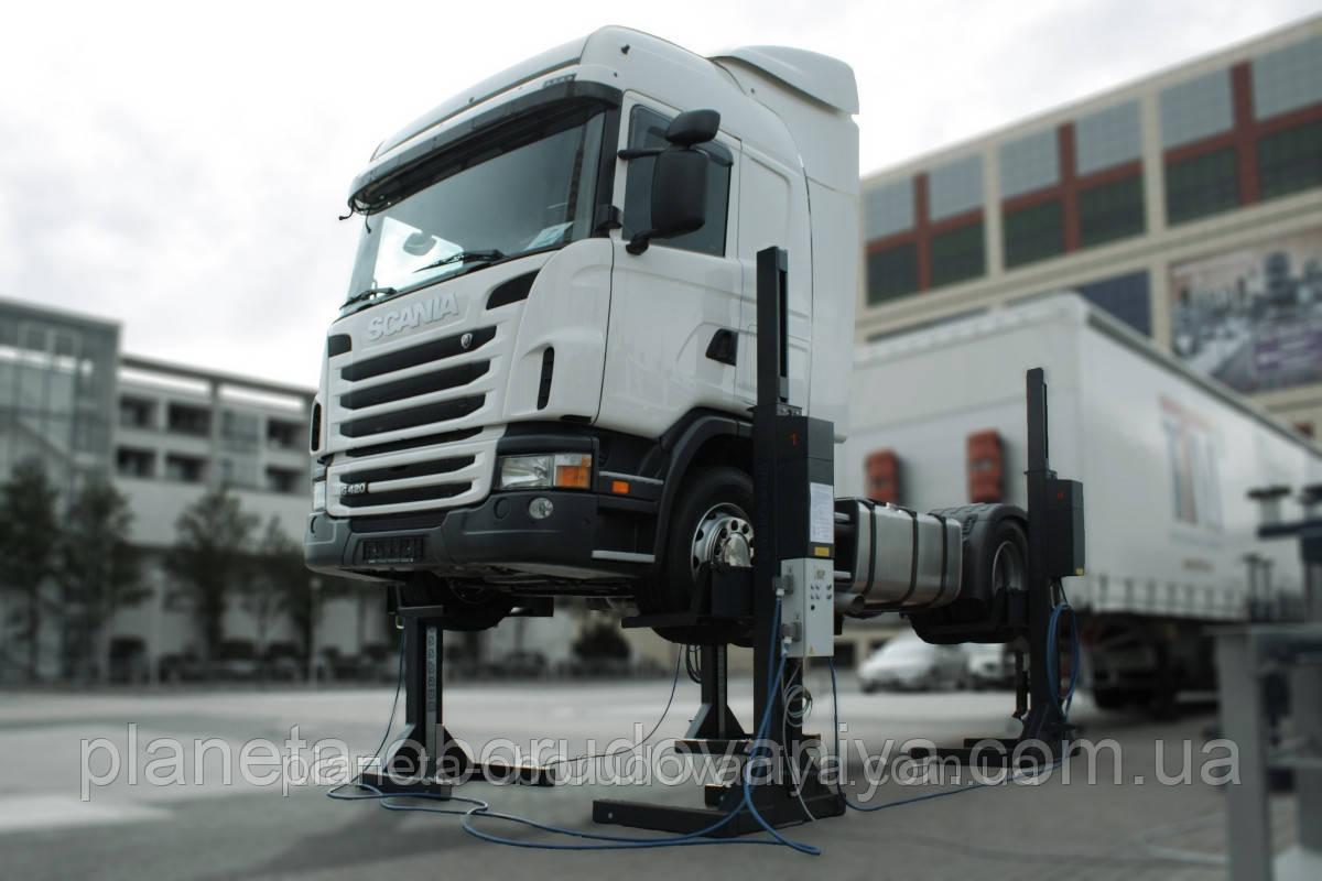 Передвижные колонны для грузовых автомобилей