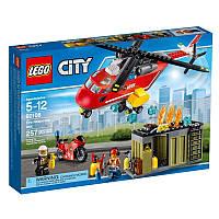 Конструктор Лего 60108 Установка для тушения пожаров