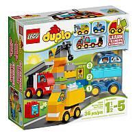 Конструктор Лего 10816 Мой первый автомобиль