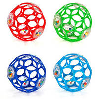 Bright Starts Мяч OBall с погремушкой 4 цвета