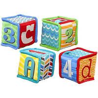 Bright Starts Мягкие кубики Веселая учеба