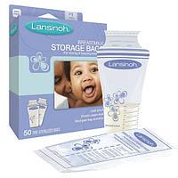 Пакеты Lansinoh для хранения и замораживания грудного молока 50 шт., из полиэтилена