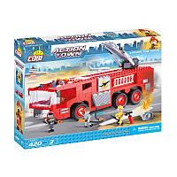 Конструктор COBI  Пожарная машина в аэропорту