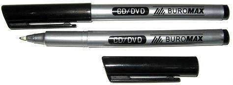 Маркер для CD ВМ 8701-01 0,6 мм черн., фото 2