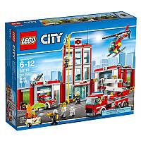 Лего 60110 Пожарная Станция