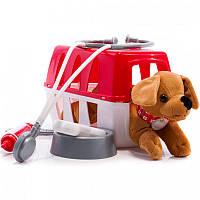 Игровой набор Ветеринарная клиника с переноской для щенка 8 аксес