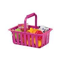 ECOIFFIER Корзина для супермаркета с продуктами