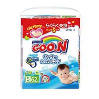 Трусики-подгузники GOO.N для активных детей 5-9 кг размер S унисекс 62 шт
