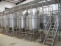 Технологическая линия производства топленого молока