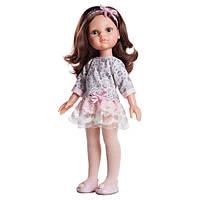 Кукла Кэрол в платье гипюр 32 см