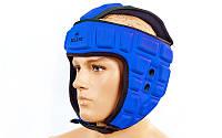 Шлем для тхэквондо ZEL (EVA, синий, р-р L-XL)