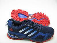 Мужские кроссовки Adidas Marathon TR15 сине-красные