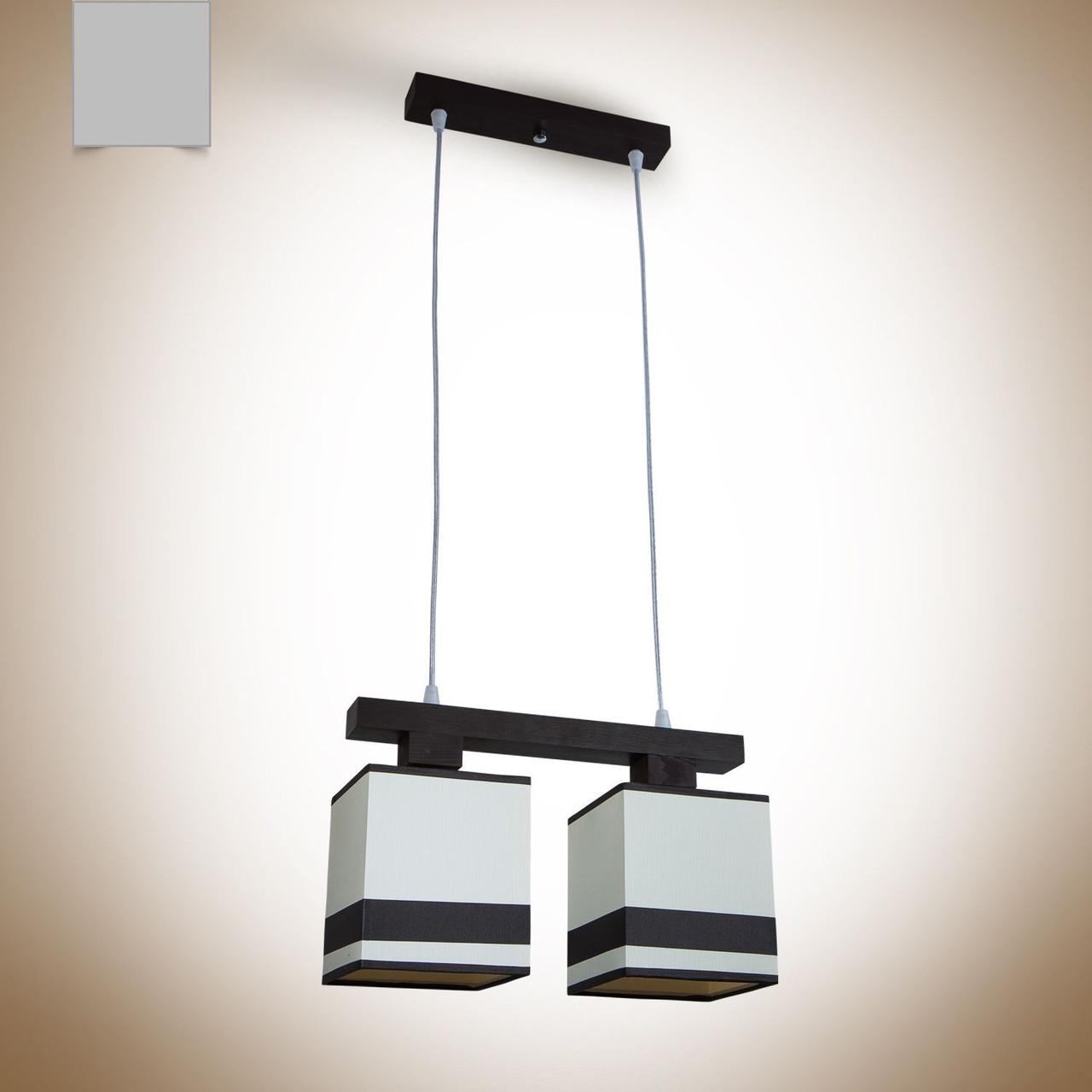 Люстра для высоких потолков с абажурами 19122-1