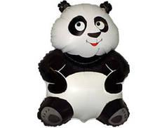 """Фольгированная фигура """"Панда"""" надутая гелием"""