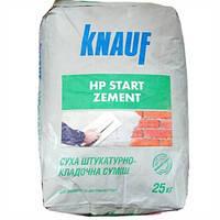 Штукатурно-кладочная смесь HP Старт Knauf 25 кг.