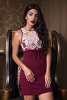 Вечернее платье с французской вышивкой 4 цвета