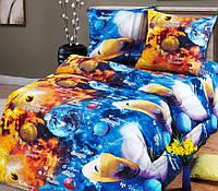 Детское постельное белье Парад планет бязь Подростковый комплект