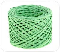 Бумажный крафт шпагат (зеленый)