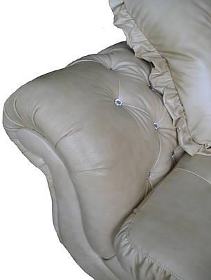 """Раскладной кожаный угловой диван 3Н1 """"Brocard"""" (Брокард). (302*225 см), фото 2"""