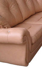 """Раскладной кожаный угловой диван 3Н1 """"Brocard"""" (Брокард). (302*225 см), фото 3"""