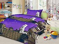 Детское постельное белье Пушистый мечтатель бязь