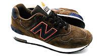 Кроссовки мужские New Balance 1400 в коричневом цвете