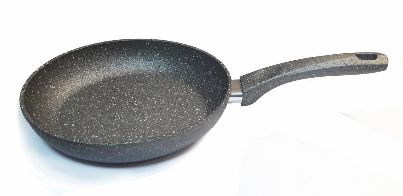 """Сковорода с антипригарным покрытием """"Eco Granite"""" Con Brio 18см"""