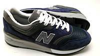 Кроссовки New Balance 997  синего цвета