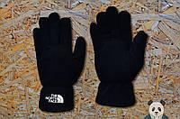Молодіжні чорні рукавички Тнф,The North Face