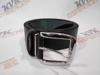 Ремень для джинсов и брюк черный (Арт. Ч1)