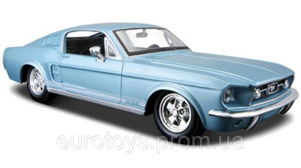 автомодель 1967 ford mustang gt