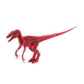 """3D пазл из гофрокартона Kawada D-torso """"Хищник"""", красный 4580238618827"""