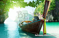 "Фотообои: ""Лодка на берегу"""