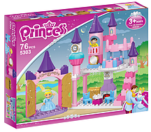 """Конструктор """"Замок принцессы"""" 5303, 76 деталей"""