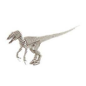 """3D пазл из гофрокартона Kawada D-torso """"Хищник"""", белый 4580238618841"""