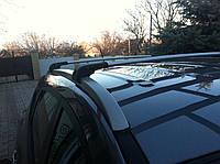 Hyundai IX-35 2010-2015 гг. Поперечный багажник на интегрированые рейлинги под ключ (2 шт)