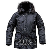Куртка зимняя Аляска (ЧЕРНАЯ)