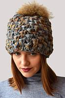 Молодежная теплая шапка