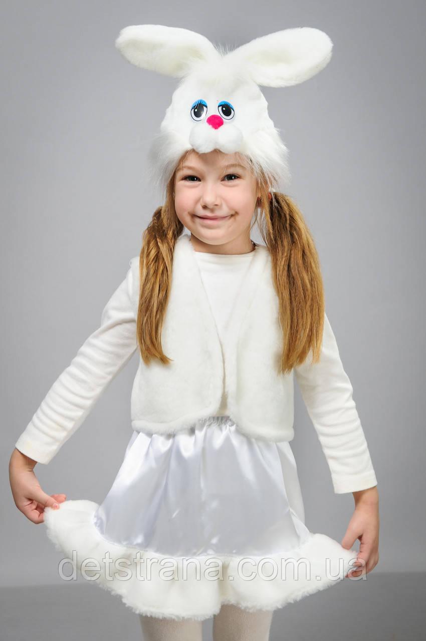 Новорічний костюм Зайка біла