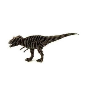 3D пазл из гофрокартона Kawada D-torso Тиранозавр черный 4580238618957