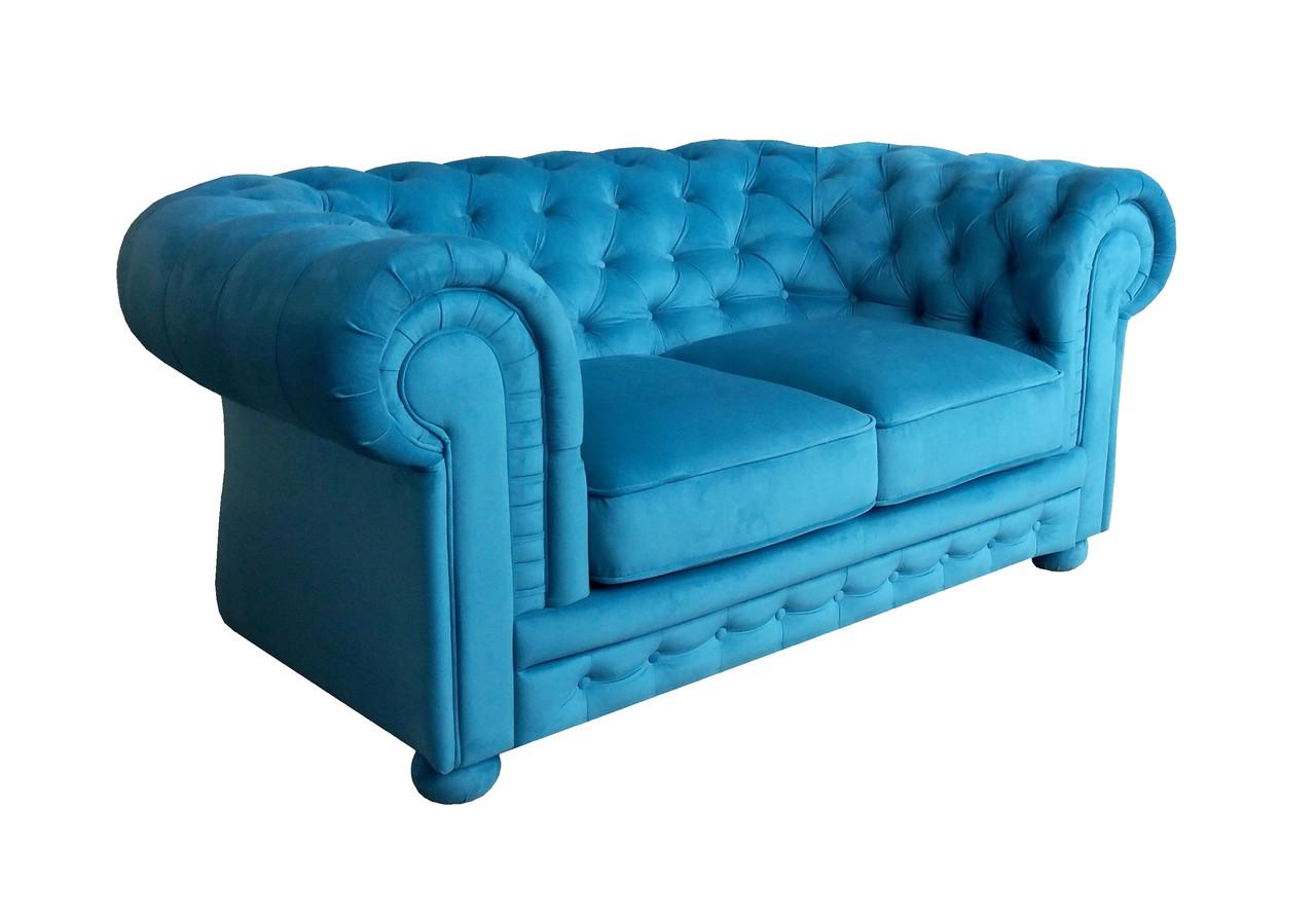 """Двухместный диван в английском стиле """"Chester"""" (Честер Классик). (171 см)"""