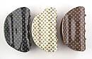 Краб для волос Louis Vuitton 8,5 см черный, фото 3