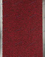 Дорожка грязезащитная Париж, 130см. темно-красная, длина любая