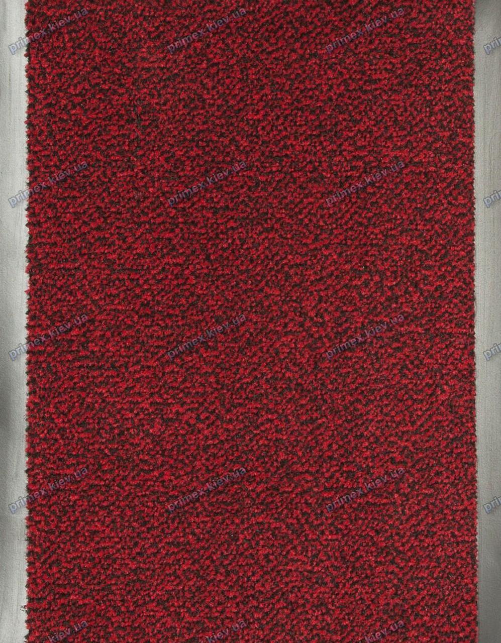 Дорожка грязезащитная Париж, 130см. темно-красная, длина любая - Тексигум в Киеве