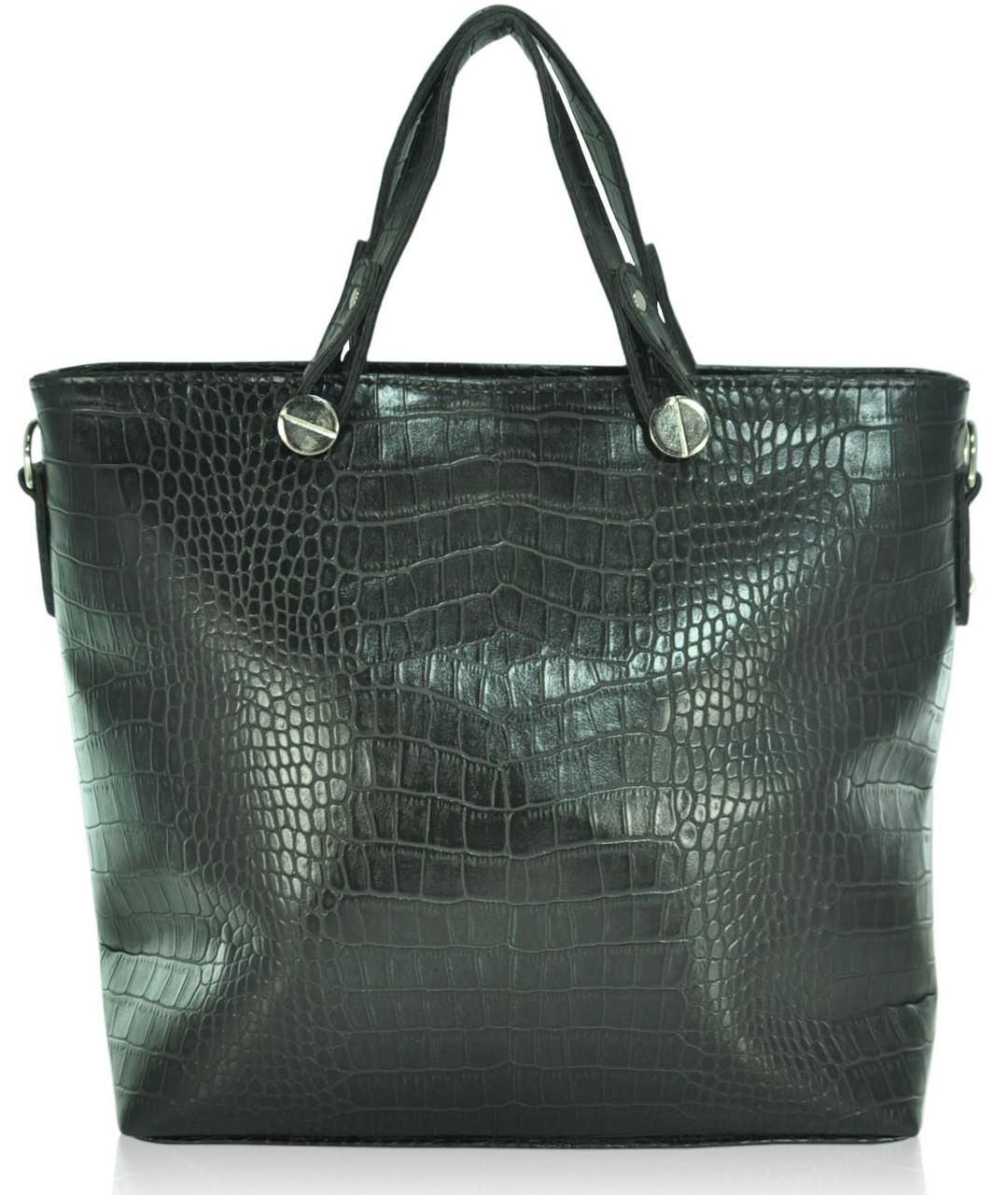 Женская сумка K10-61 черная