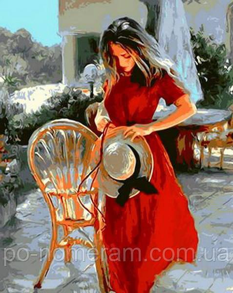 Картина по номерам Mariposa Красная лента