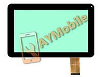 "Сенсор для планшета (тачскрин) 9"" DH-0901A1-FPC01-01 50 pin 233x141 mm black"
