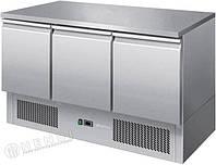 Стол холодильный  3-дверный с рабочей поверхностью