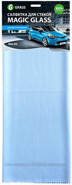 Салфетка для стекла Magic Glass 40х50см.