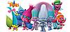 Герои мультфильма Тролли от Hasbro